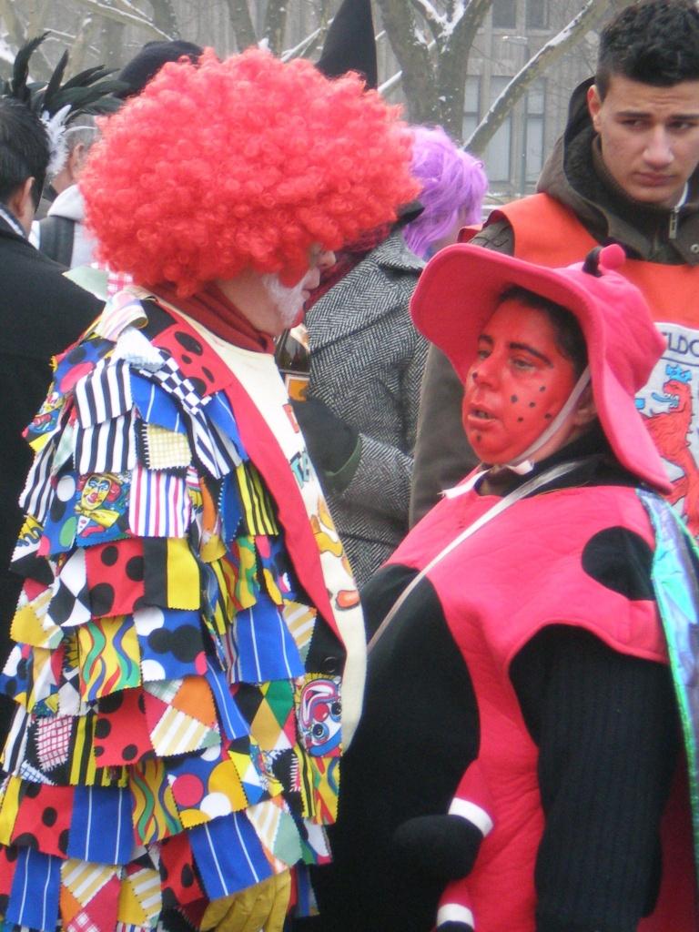 Карнавал в Дюссельдорфе в 2010 году